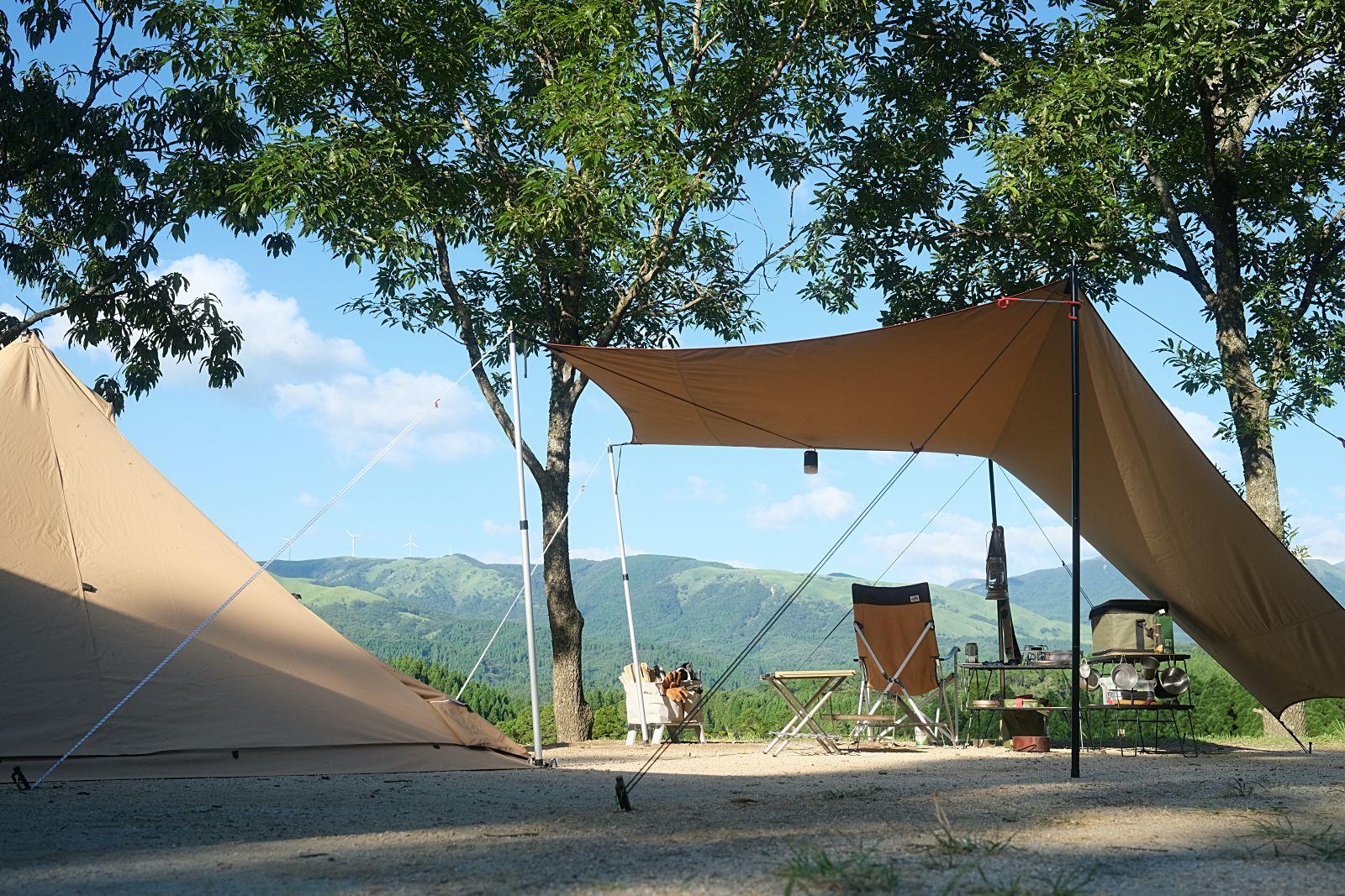 熊本県阿蘇郡南小国町でキャンプ。_a0129474_20581181.jpg