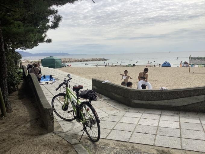 4日かぶりの太陽 自転車で 明石大橋に_e0271579_22505154.jpeg