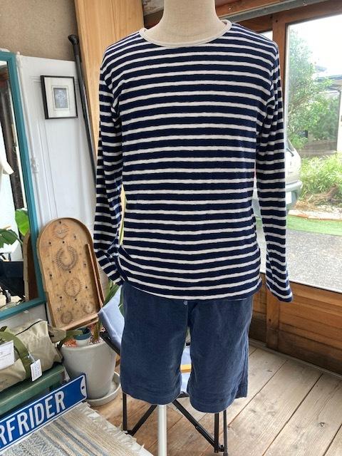 新作リバーシブルTシャツはナチュラルボーダー♪_d0108933_23240681.jpg