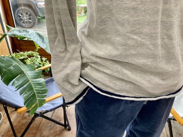 新作リバーシブルTシャツはナチュラルボーダー♪_d0108933_23241026.jpg