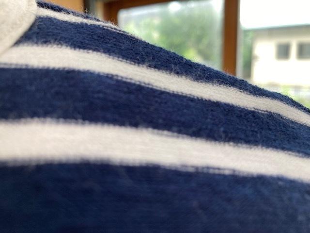 新作リバーシブルTシャツはナチュラルボーダー♪_d0108933_23241269.jpg