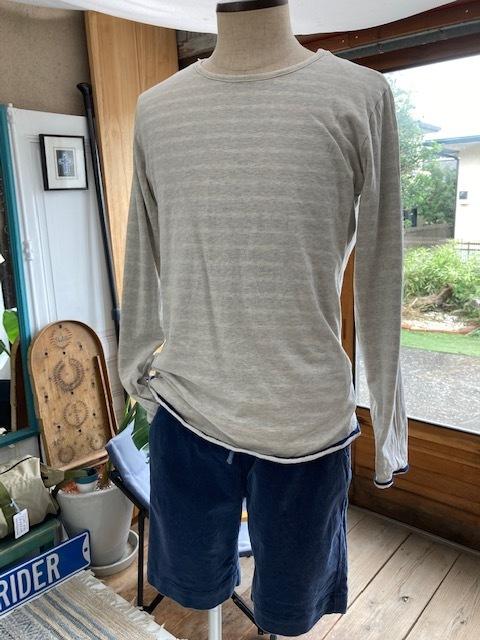 新作リバーシブルTシャツはナチュラルボーダー♪_d0108933_23242351.jpg