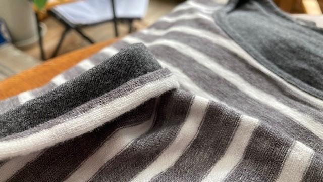 新作リバーシブルTシャツはナチュラルボーダー♪_d0108933_23264844.jpg