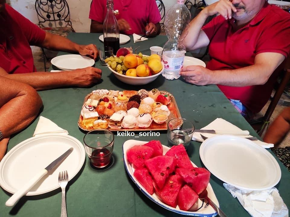 田舎の家でプーリアマンマの料理を堪能!_b0305039_19283039.jpg