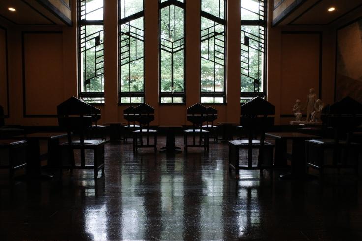 フランク・ロイド・ライトが基本設計をした『自由学園明日館』へ行ってきた_a0287336_14483917.jpg