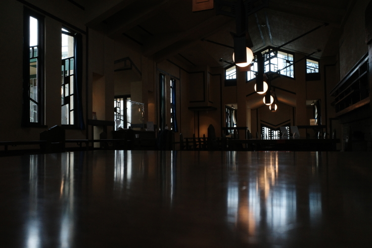 フランク・ロイド・ライトが基本設計をした『自由学園明日館』へ行ってきた_a0287336_15051527.jpg