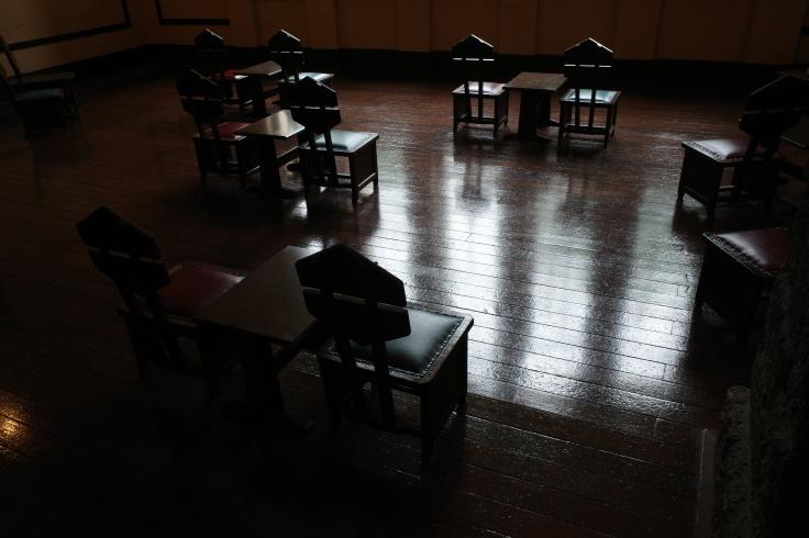 フランク・ロイド・ライトが基本設計をした『自由学園明日館』へ行ってきた_a0287336_15081401.jpg