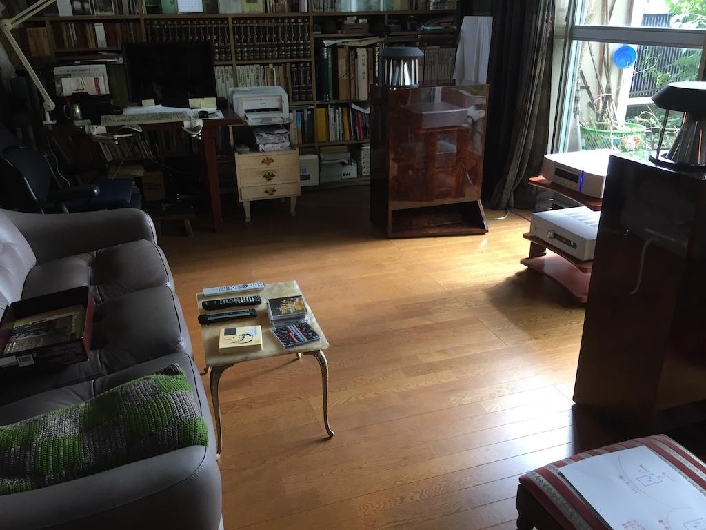 S.Yさんの整理された書斎のユニコーン _f0108399_19133498.jpg