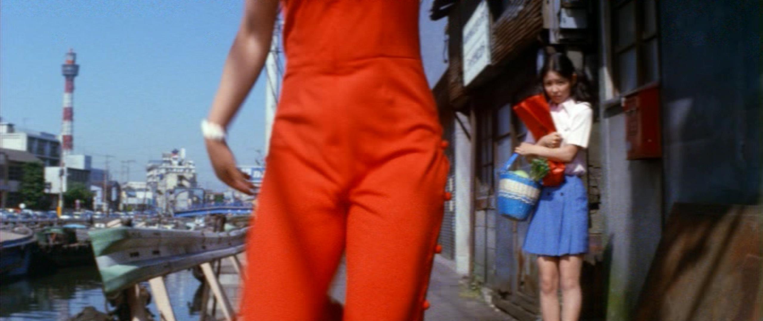 市毛良枝(Yoshie Ichige)「混血児リカ ハマぐれ子守唄」(1973)・・・《前半》_e0042361_20453310.jpg