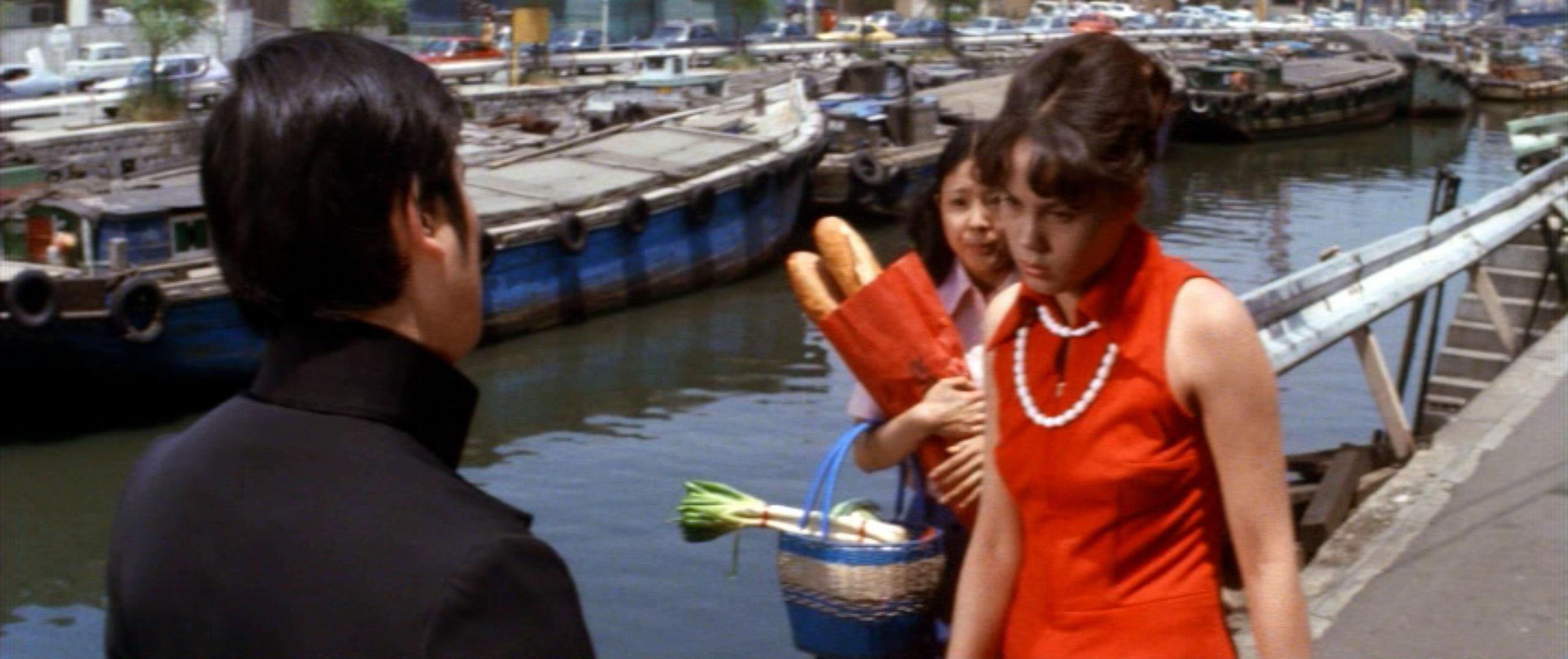市毛良枝(Yoshie Ichige)「混血児リカ ハマぐれ子守唄」(1973)・・・《前半》_e0042361_20454843.jpg