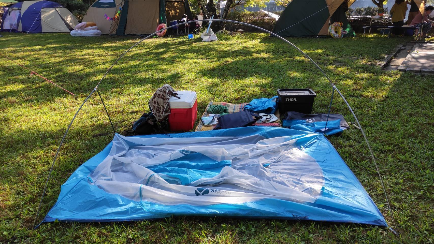 デザイン・機能・高コスパの登山テント MOBI GARDEN / AS WINGS 2G レビュー_b0108109_19250695.jpg