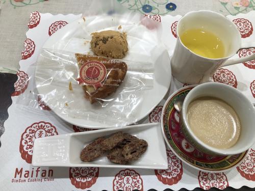 点心教室IN名古屋2020年12月に㉓ 『ピーカンナッツ&香港ミルクティープリン』_e0159185_12114850.jpeg