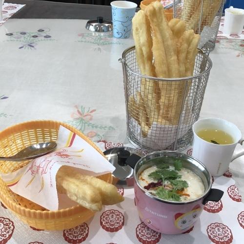 点心教室㉔『揚げパン&豆乳スープ』_e0159185_22200466.jpeg