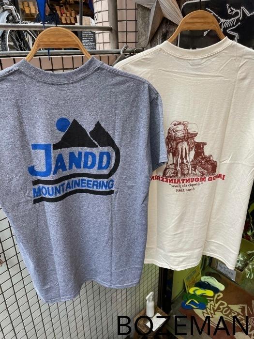 Jandd Mountaineering T-Shirt _f0159943_16164889.jpg