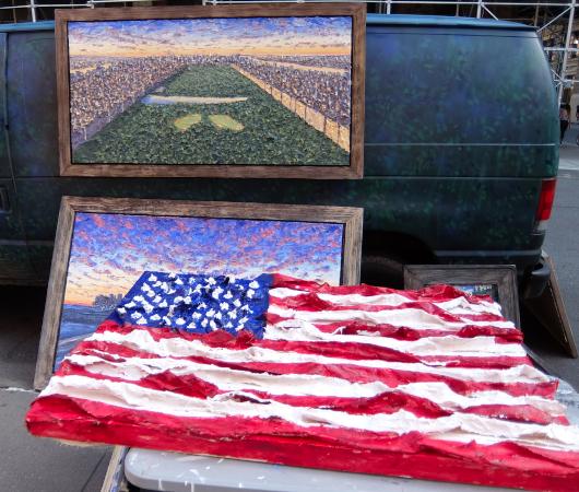 1931年から90年超続くNYの野外アート展、Washington Square Outdoor Art Exhibit_b0007805_04233347.jpg