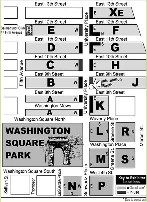 1931年から90年超続くNYの野外アート展、Washington Square Outdoor Art Exhibit_b0007805_04234261.jpg