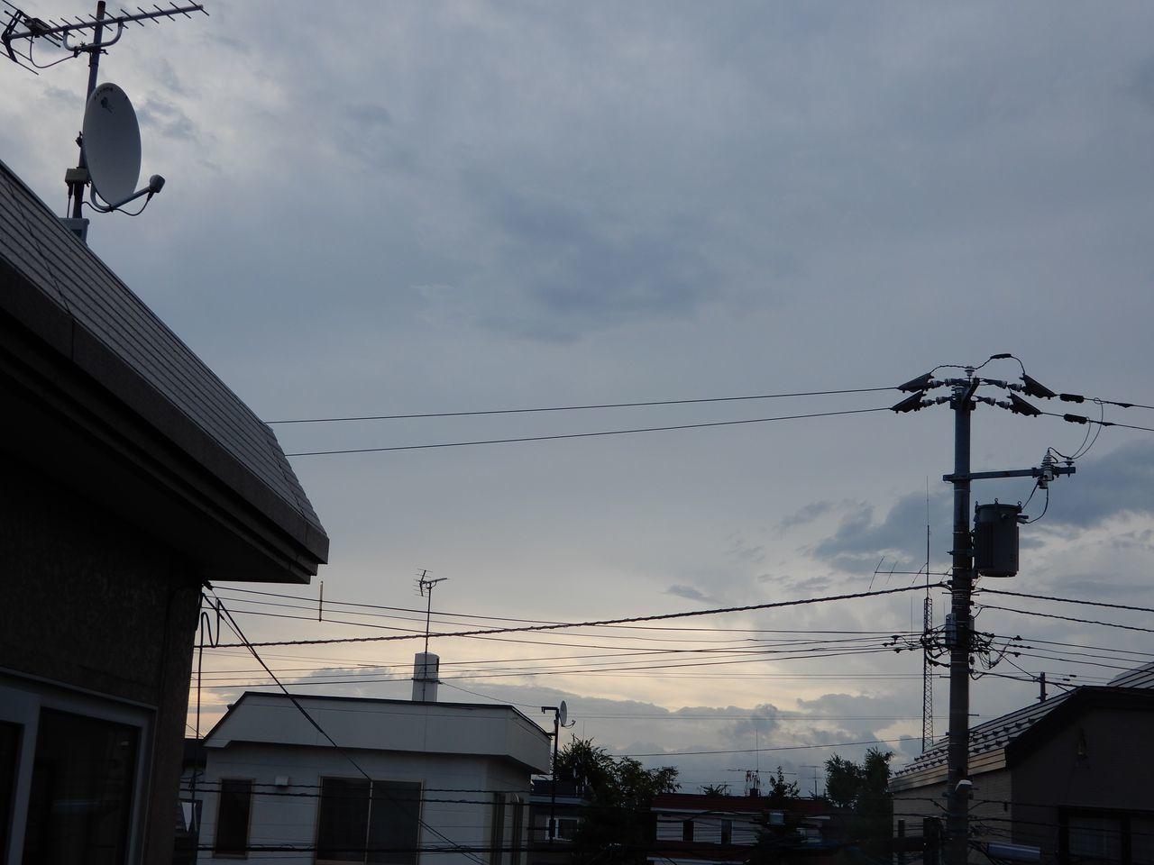 夏の終りの小さな嵐_c0025115_21435487.jpg