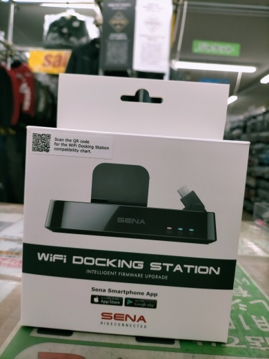 SENA 簡単!便利!格好いい!Wifiドッキングステーション!!_b0163075_09064951.jpg