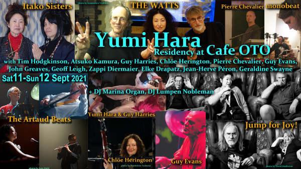Guy Evans plays for Yumi Hara 2-Day Residency at Cafe Oto, London 11–12 SEPTEMBER 2021_b0009391_13374013.jpg