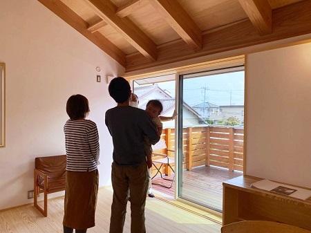 「スカイデッキのある2階リビングの家」完成見学会を開催しました。_a0059217_16365220.jpg