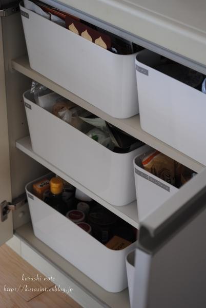 【無印】ファイルボックスで * 増えた食品ストックの収納_b0351624_15165481.jpg