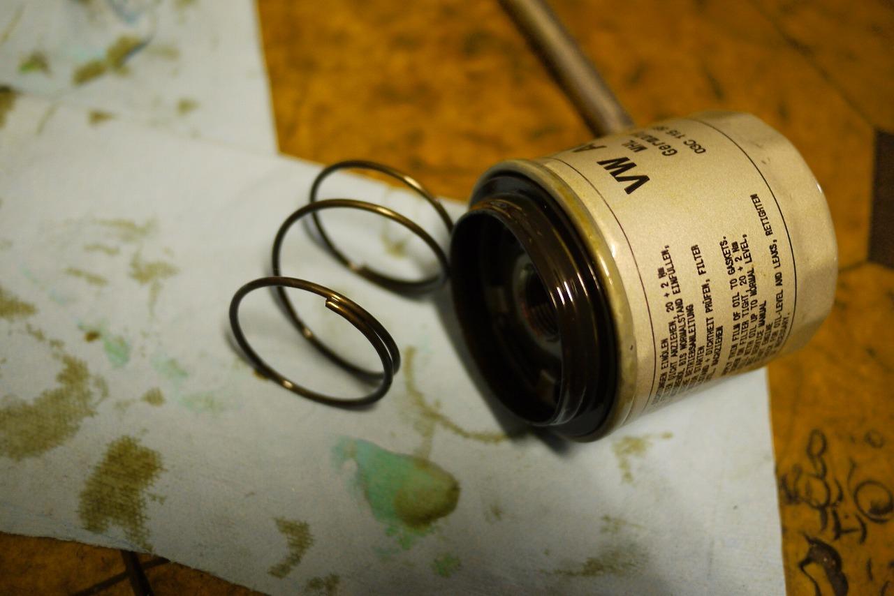 ザ ビートルのエンジンオイルフィルター最初は悩みますよね_d0171835_19465507.jpg