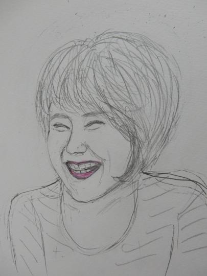^21,9,14(火)フレンドリーなニコちゃんとこの人は誰?_f0060461_10000715.jpg