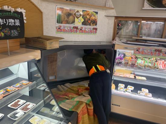 スーパーマーケット 陳列棚 別注製作_f0053665_13412994.jpg