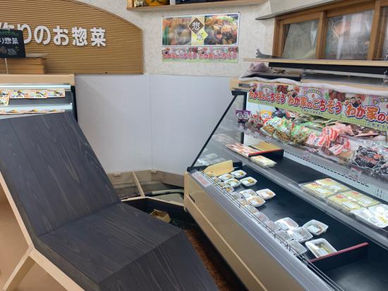 スーパーマーケット 陳列棚 別注製作_f0053665_13413346.jpg