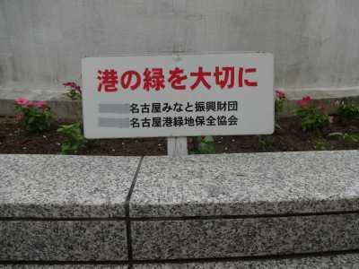 名古屋港水族館前花壇の植栽R3.9.8_d0338682_09374158.jpg