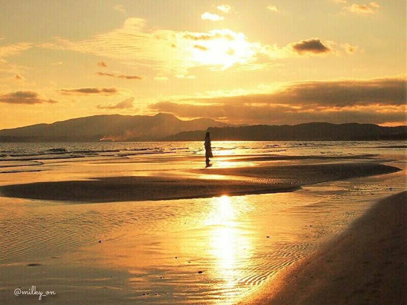 海の夕_d0177586_14243702.jpg