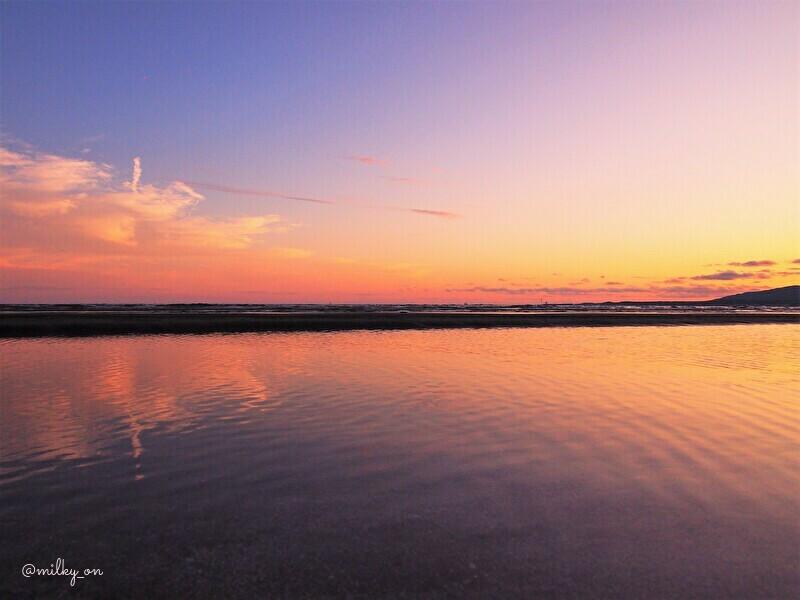 海の夕_d0177586_14244415.jpg