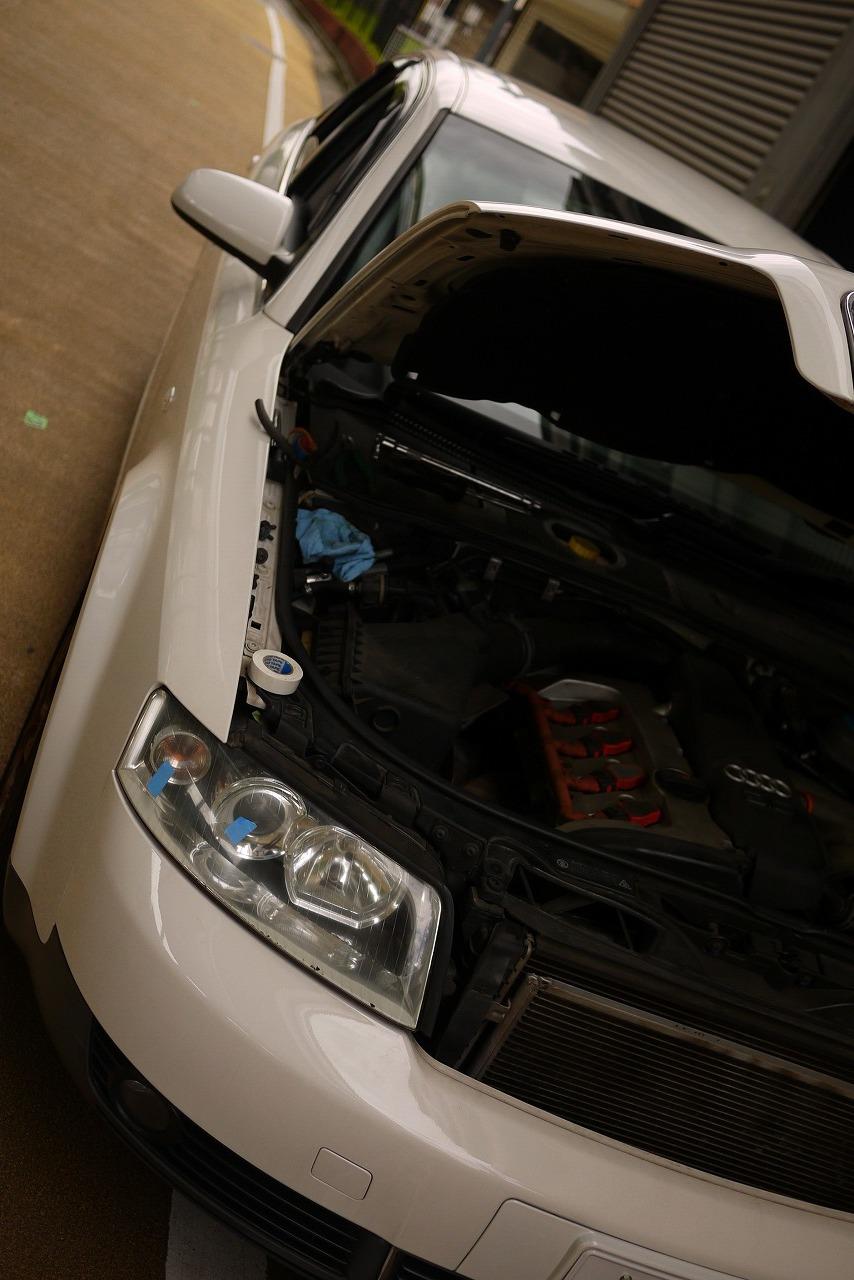 アウディA4 ウインカー点かない ヘッドライト点かない_d0171835_13334534.jpg
