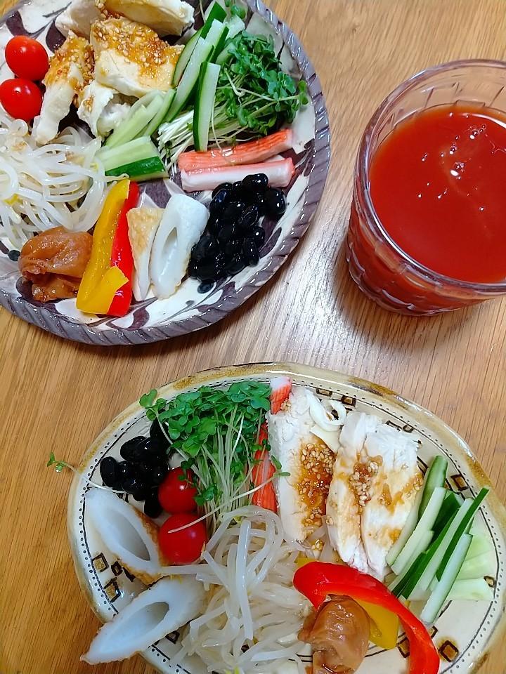 色鮮やかな朝食。_e0251855_12282249.jpg