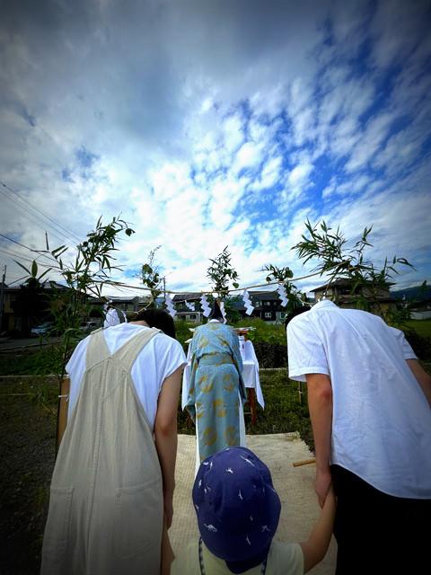 「岡谷の家」・・・地鎮祭_f0154697_19443800.jpg