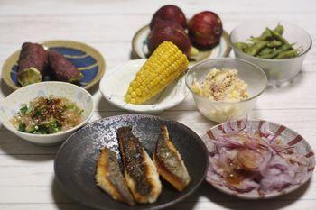 9/4~9/16 息子たちの帰省 魚料理_f0196800_18503647.jpg