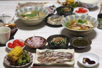 9/4~9/16 息子たちの帰省 魚料理_f0196800_18504778.jpg