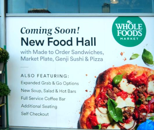 NYのスーパー(Whole Foods)で建設中の新しいフードホールの目玉商品って何?_b0007805_06014973.jpg