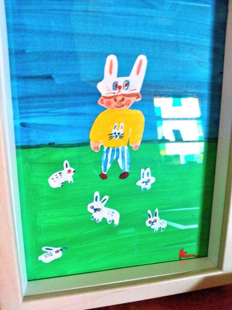 定休日の今日、ワクチン接種、1回目終了and 楓真知子さんの展示ディスプレイ中_f0129557_14432198.jpeg