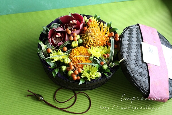 お祝いの花かご_a0085317_19123487.jpg