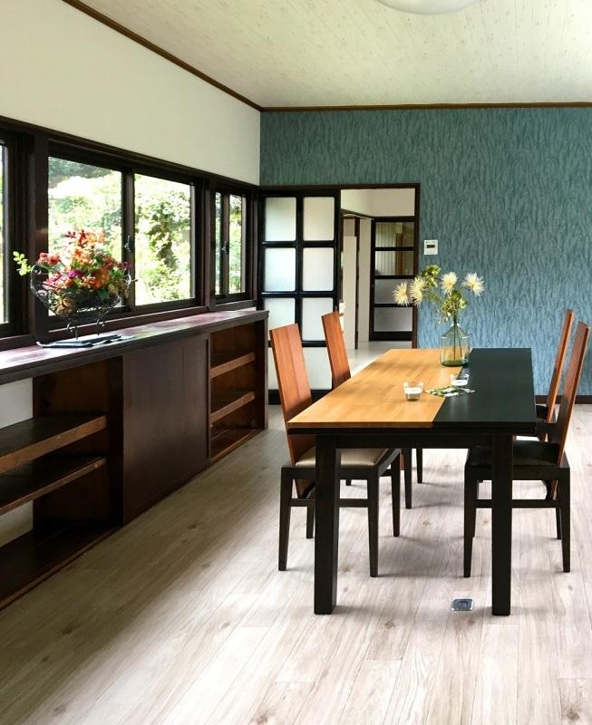 古民家再生ホームステージング実例 「インテリアスタイリングと家具」_d0224984_18292640.jpg