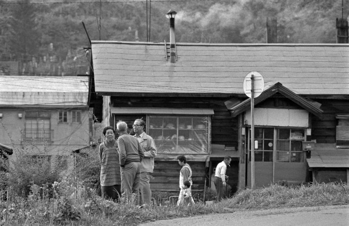 80年代夕張178・石炭ストーブの煙_f0173596_17583765.jpg