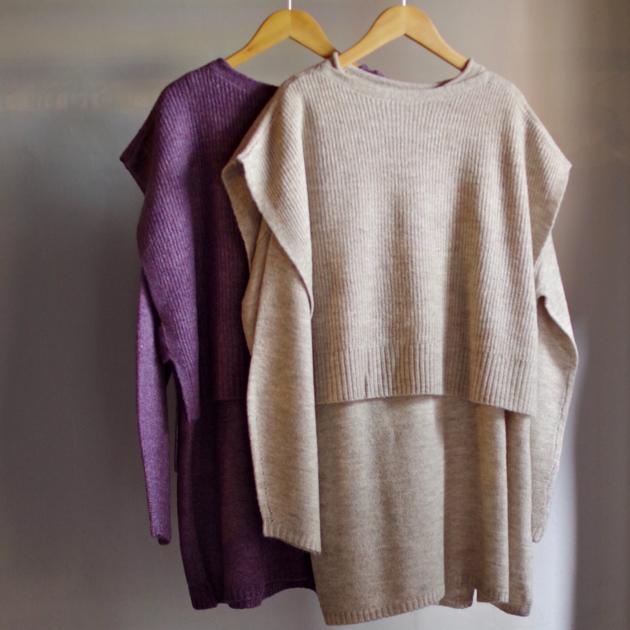 Select Item / Vest & Sweater Set_e0196261_18030745.jpg