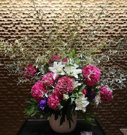 サロンのお花と 美容院 小学生の想い出_a0264383_16560806.jpg