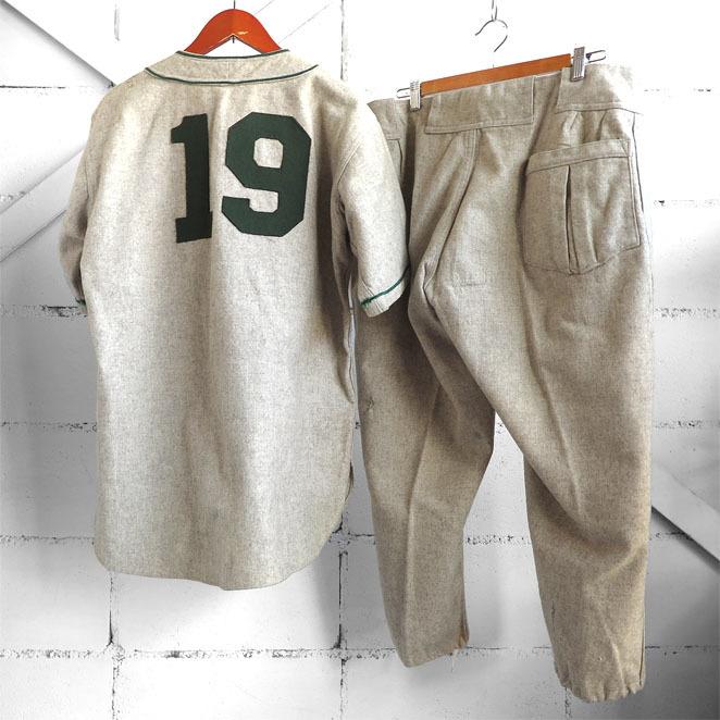 古いベースボールシャツとパンツ。_d0187983_18130147.jpg