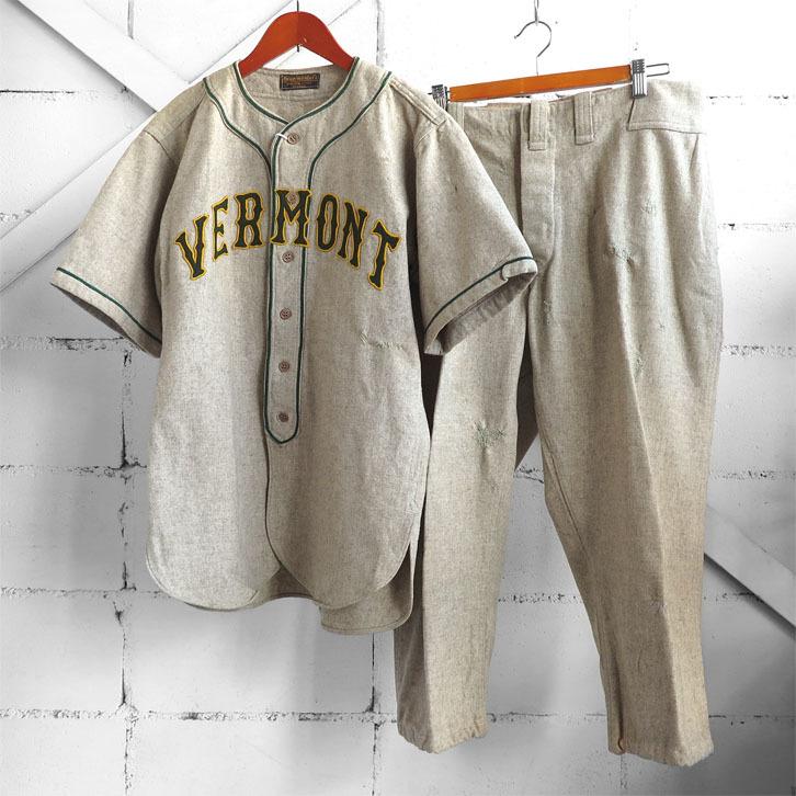 古いベースボールシャツとパンツ。_d0187983_18131737.jpg