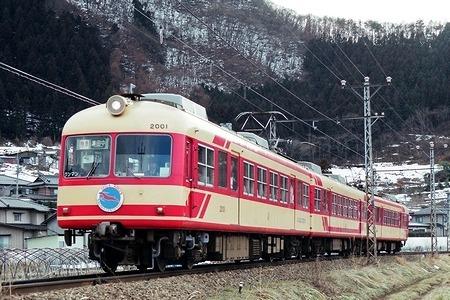 長野電鉄 モハ2001_e0030537_02183158.jpg