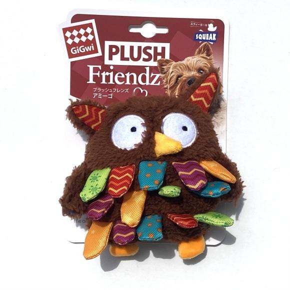 GiGwi PLUSH Friendz Owl  ギグウィ プラッシュ フレンズ アミーゴ アウル_d0217958_18383348.jpeg
