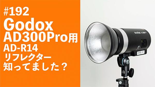 2021/09/20 #192 Godox AD300Pro用AD-R14リフレクター知ってました?_b0171364_18145517.jpg
