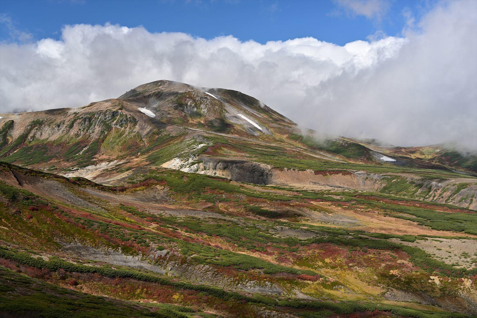 【大雪紅葉】 銀泉台-赤岳-黒岳-層雲峡 プチ縦走 2021.9.19_a0145819_05510464.jpg